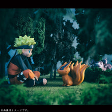 Load image into Gallery viewer, Naruto Q-Version figure naruto and bijuu - 8cm