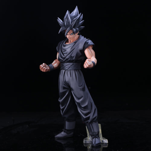 Dragon Ball Character San Goku Black Hair Figure - 27 CM