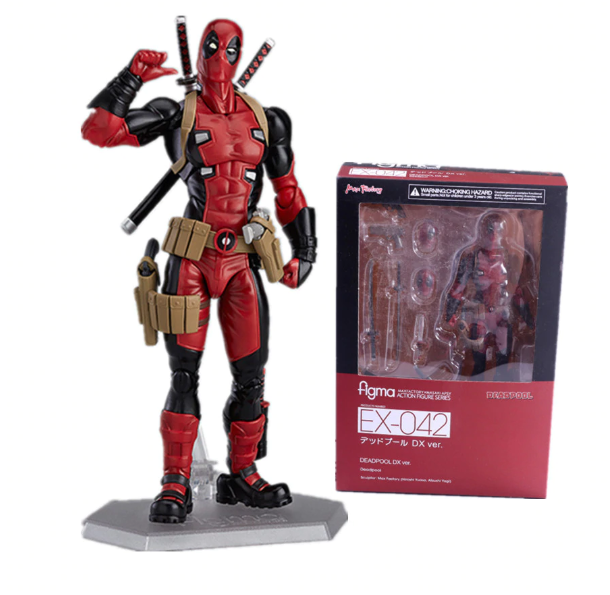 Figurine Deadpool Action Figure X-MEN EX-042 DX Version- 16CM