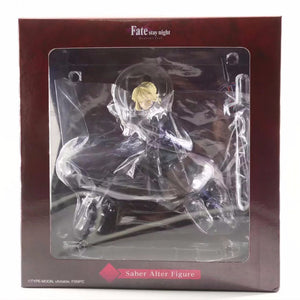 Fate/Stay Night Saber Alter Black Version Anime Figure - 20CM