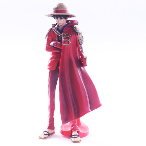 One Piece Luffy with cloak figure - 25CM