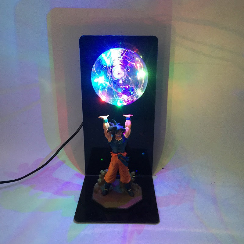 Dragon Ball SanGoku Genki Dama Spirit Bomb Led Energy Saving Light