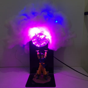 Dragon Ball San Goku Genki Dama Spirit Bomb V1 LED energy saving eye lamp