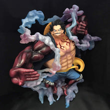 Load image into Gallery viewer, Luffy Figure Gear 4 BOUNDMAN - 28CM