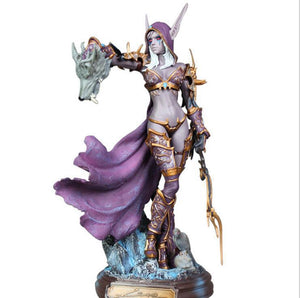 Sylvanas Queen of the Forsaken World of Warcraft Statue Figure - 23CM