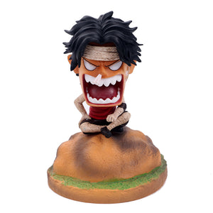 One piece Q-Version Ace in angry Nendoroid