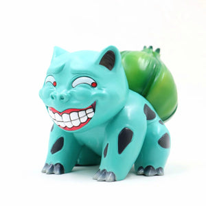 Pokemon Anime Figure Dumb Face Bulbasaur - 10CM