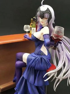 Fate grand order Jeanne d'Arc drunk at bar figure - 25cm