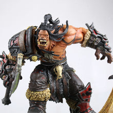 Load image into Gallery viewer, Figurine de jeux World of warcraft Grommash Hellscream Game Figure - 24CM