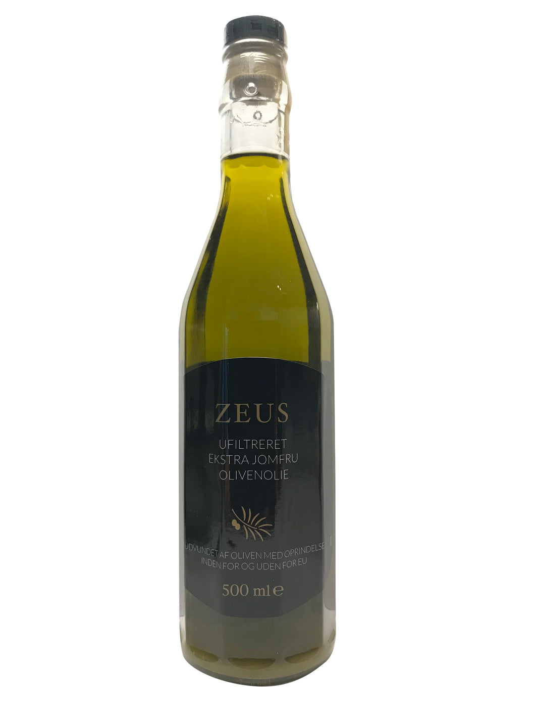 Zeus Ufiltreret Extra Virgin - Inka Food Private Brand