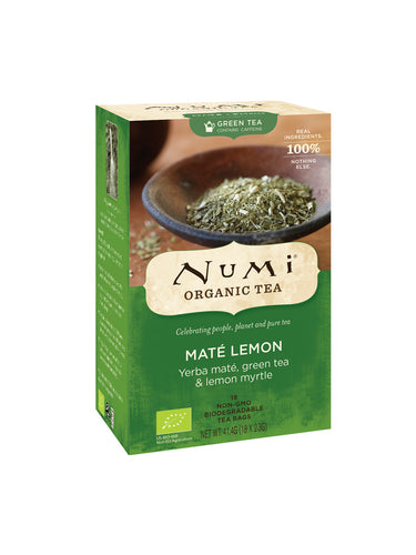 Te Mate Lemon™ ØKO Rainforest urte te + grøn te