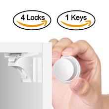 Magnetic Invisible No Drill Safety Lock