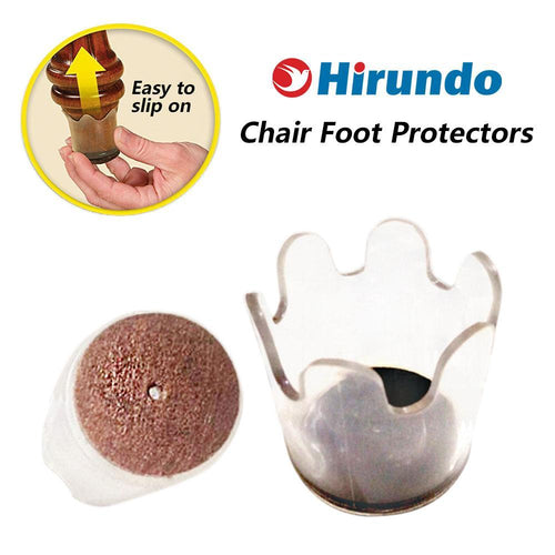 Hirundo Chair Foot Protectors, 8 packs