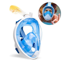 180° Seaview Full Face Snorkel Mask