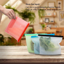 Hirundo Silicone Food Storage Bags, 2 packs