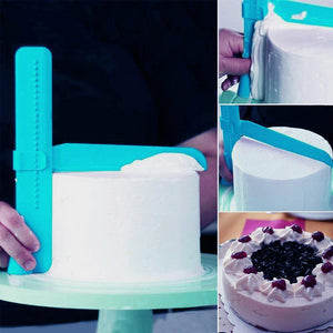 Adjustable Cake Smoother Scraper