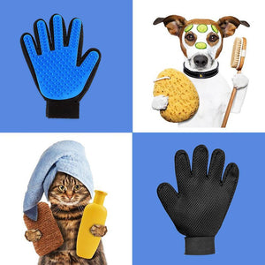 Hirundo Pet Hair Remover Glove (Great for Cats/Dogs)