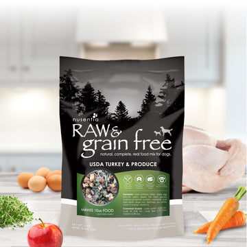 raw grain free dog food