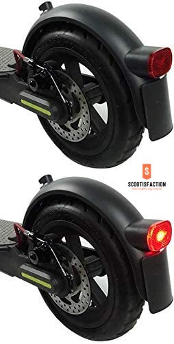 Rear fender Replacement with Light, hook and license plate For Xiaomi PRO2/ 1S /ESSENTIAL Electric Scooter