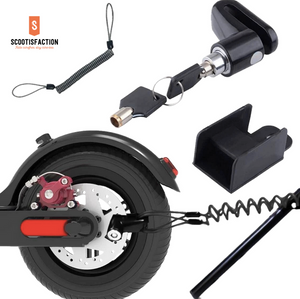 ANTI THEFT BRAKE DISC LOCK BLACK FOR XIAOMI M365/ 1S/ PRO/ PRO2/ LITE ELECTRIC SCOOTER