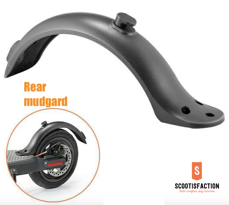REAR WHEEL FENDER MUDGUARD FOR XIAOMI M365/ 1S/ PRO/ PRO2/ LITE ELECTRI SCOOTER