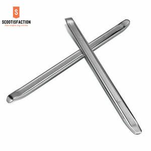 2* TYRE BAR TOOLS LEVERS STAINLESS FOR ANY ELECTRIC SCOOTERS OR BICYCLE