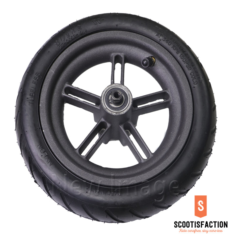REAR WHEEL ASSEMBLED INFLATABLE WITH HUB 8 1/2X2 TYRE FOR M365/ 1S/ LITE XIAOMI ELECTRIC SCOOTER