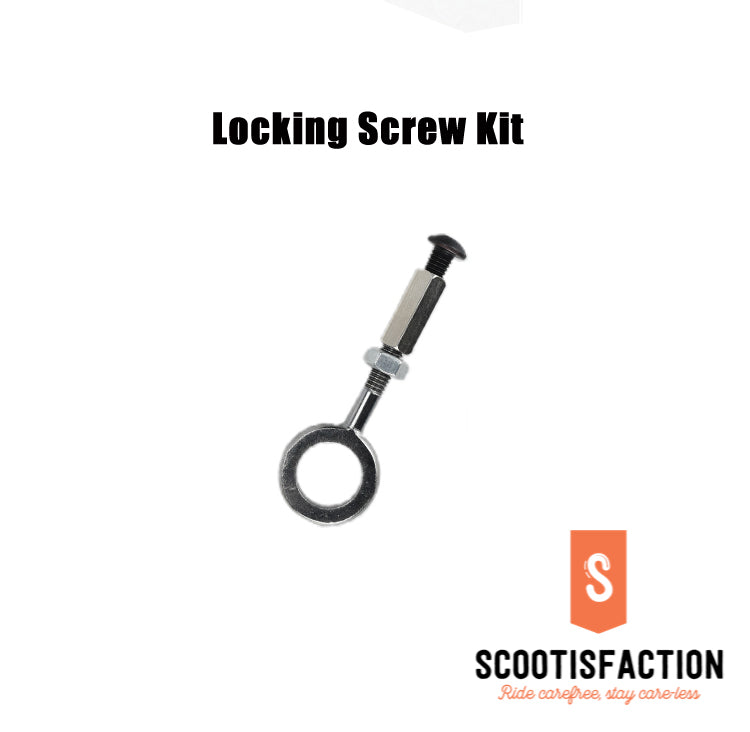SHAFT LOCK SCREW SET FOR M365/ 1S/ PRO/ PRO2/ LITE XIAOMI ELECTRIC SCOOTER