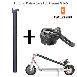 COMPLETE FOLDING POLE WITH BASED ASSEMBLED FOR XIAOMI M365/ 1S/ LITE ELECTRIC SCOOTE