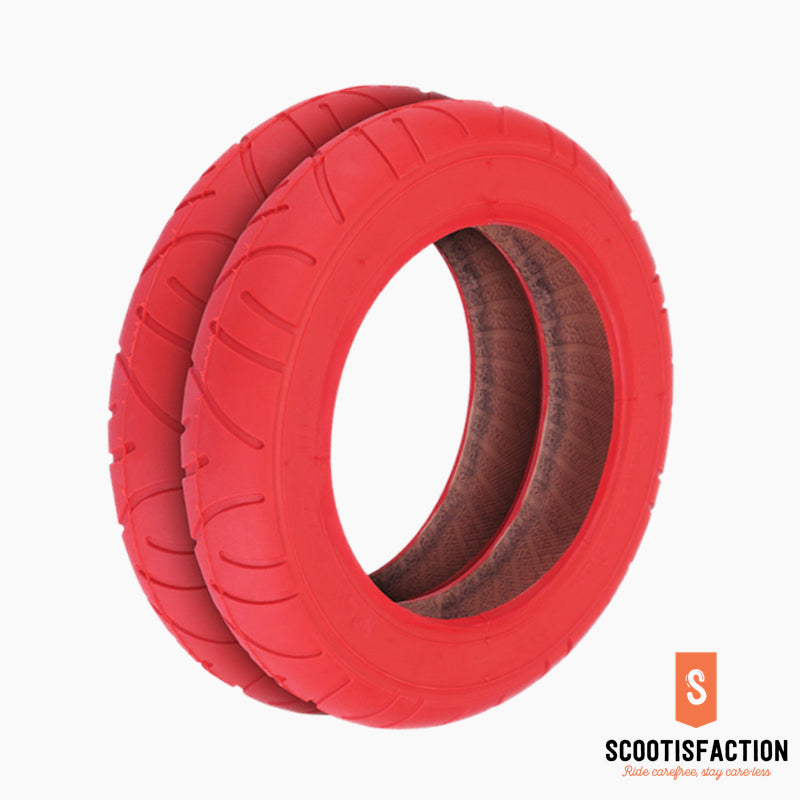 "OUTER TYRE 10"" RED FOR XIAOMI M365/ 1S/ PRO/ PRO2/ LITE ELECTRIC SCOOTER"