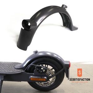 Rear fender Replacement with hook and license plate For Xiaomi PRO2/ 1S /ESSENTIAL Electric Scooter