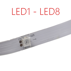 Bottom LED light strip replacement for Ninebot ES 1/ ES2/ ES4 Electric scooter
