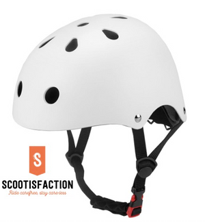 ORIGINAL HELMET FOR ELECTRIC SCOOTER XIAOMI NINEBOT BIKES BLACK OR WHITE