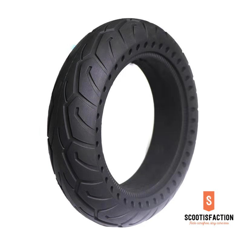 Solid Tyre 10 x 2.5 Honeycomb For Max G30 Ninebot Electric Scooter