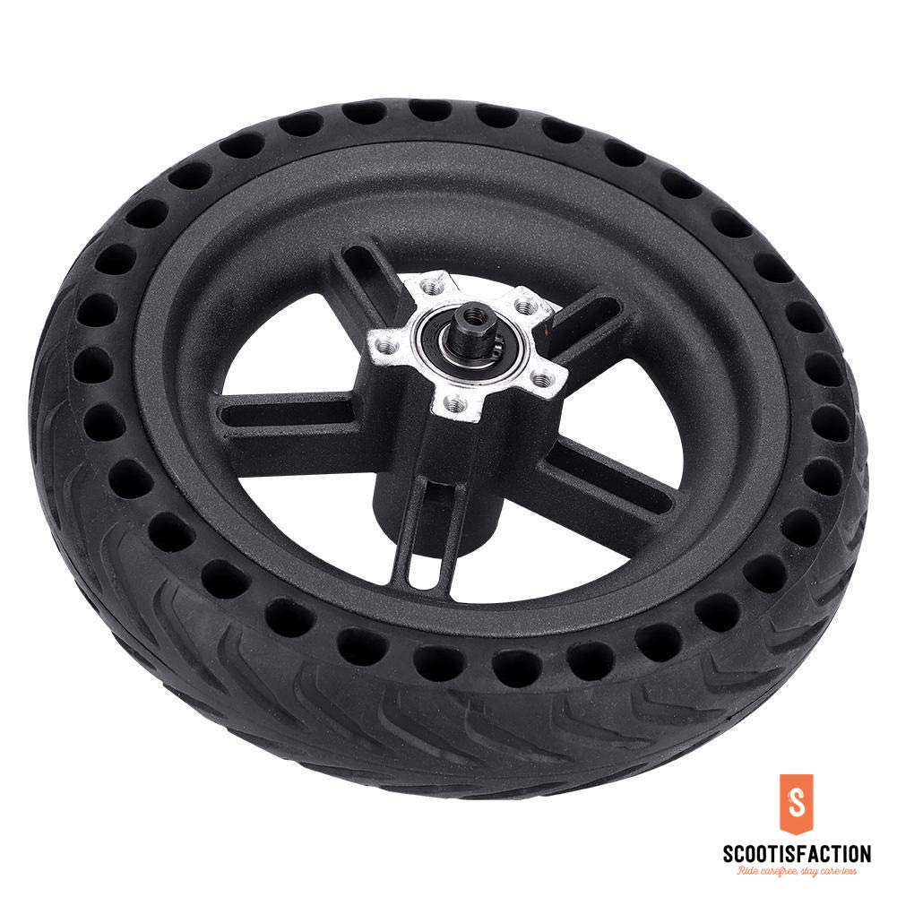 REAR WHEEL ASSEMBLED SOLID TYRE HONEYCOMB WITH HUB FOR PRO/ PRO2 XIAOMI