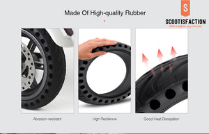"SOLID TYRE HONEYCOMB 8.5"" INCH XIAOMI M365/ 1S/ PRO/ PRO2/ LITE ELECTRIC SCOOTER"