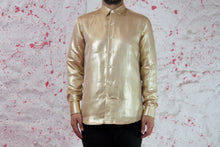 Load image into Gallery viewer, Gold Cotton shirt