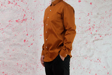 Load image into Gallery viewer, Brown cotton shirt