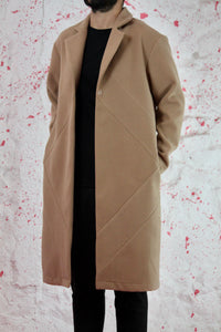 Oversized double face coat