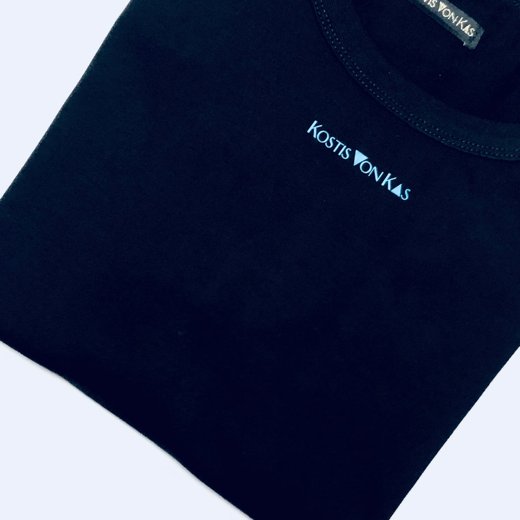 Black logo t shirt