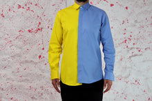 Load image into Gallery viewer, Blue yellow shirt