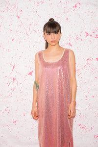 Sequin Tank Dress