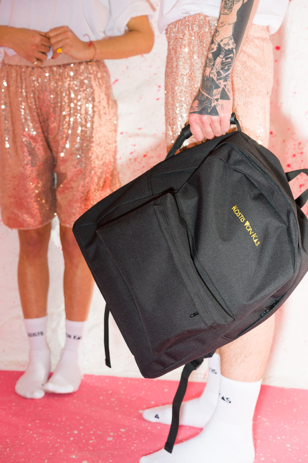 Black Oversized Backpack