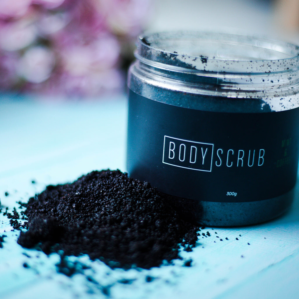 BODY SCRUB - MINT & COFFEE
