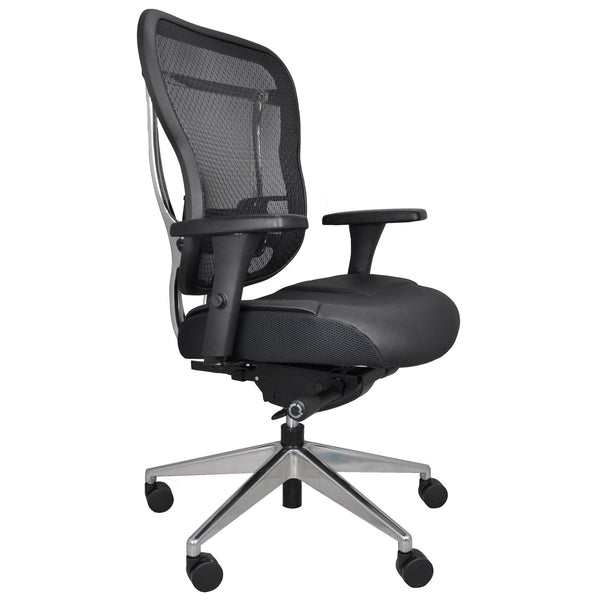 OHF Aloria Series Leather Office Chair