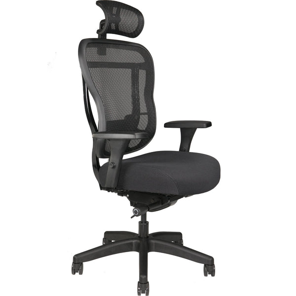 OHF Aloria Fabric Series Office Chair - with Headrest