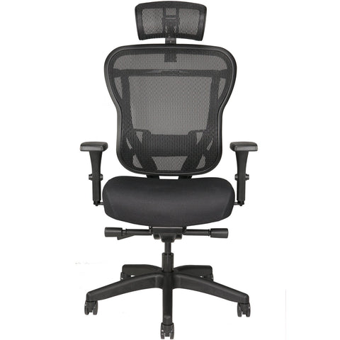 Aloria Series Fabric Office Chair with Headrest