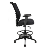 Reina Series Fabric Office Chair - Stool