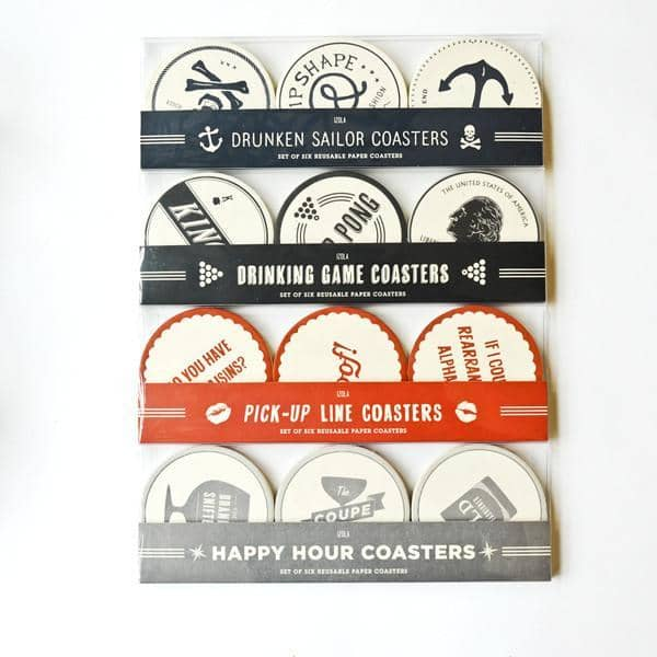 Pick Up Lines Coasters