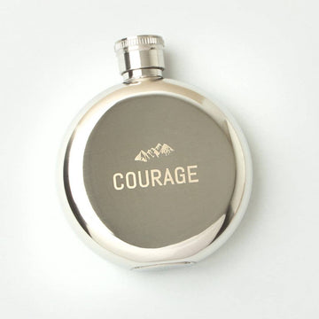 Courage 3oz Flask